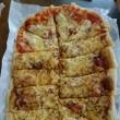 ピザ焼き上がり~☺
