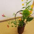 夏の装いのお花