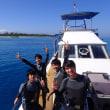 メンズ4人と水納島へ!