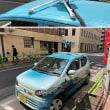 初めて 「Google Street View」自動車をまじまじと見る。