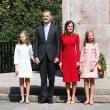 スペイン、レティシア妃と2人の娘が夏の最後のイベントへ
