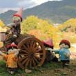 明日香村の棚田 案山子の世界(奈良県)