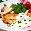 ☆ゴロゴロ野菜のポトフ&チーズソースの秋鮭のソテー☆