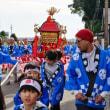 神輿出発 (五ケ所神社祭)
