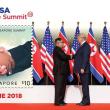 シンガポール米朝首脳会談の記念切手発売。