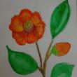 水墨、水彩画教室で絵を描くことを楽しむ