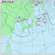 11月16日 アメダスと天気図。