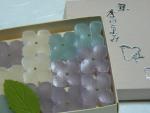 京都:紫陽花の和菓子