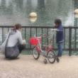 街角自転車(7) 母と息子