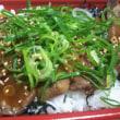 なか卯 牛タン重(´Д`)仙台ミソダレ