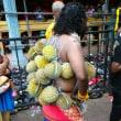 ビックリドリアンの食べ方続編「ドリアンの種と皮の利用方法」マレーシア人もギャフン。  種で自家製コロッケとハンバーグを。