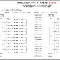 [組合せ]第34回山口県ミニバス決勝大会