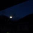 朝6時の月