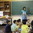 放課後の応援練習(6年生)