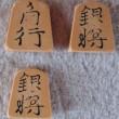 中古プラ駒500円(新宿将棋センターで購入)