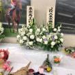 東京競馬場にて献花