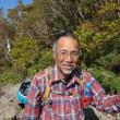 秋の日、大浪池から韓国岳に登る。