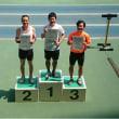 県民体育大会100m走、1位!