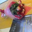 薔薇の花束を…
