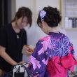 浴衣の着付け承ります★熊本市中央区 美容室ヘアモードリッツ