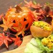 横浜 かもめパン 美味しいかぼちゃで作った パンプキンサラダサンド です!