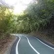 しまなみ海道の自転車道を下る時は、気を付けて!