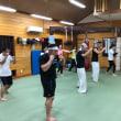 今年最初の通常稽古&ボクシング教室