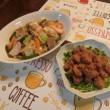 皿うどん&ゴマ漬けマグロ
