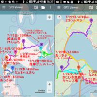 北海道くるま旅2018、の軌跡・・・