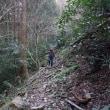 作業と川原山