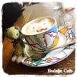 くまカフェ♪in大阪★くまちゃん&うさちゃんCupピンクッション