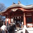 綱島諏訪神社初詣