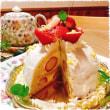 お菓子教室、2回目です! ~ドームケーキ♥~
