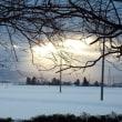 雪景色の木戸五郎兵衛村
