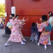 スカイツリーの展望台から町並みを眺め、人で溢れる浅草寺を訪ねたり…