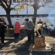 新潟県人会の餅つき大会