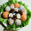 手まり寿司のリース♪( ´▽`)