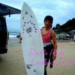 SUPER SURFBOARD SANTA CRUZ SURFBOARDS PUMPKIN ミッドレングスセッション