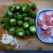 #幼いパプリカ、ピーマン豚肉炒め