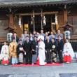 2017年 12月31日 鎮守の鎧神社で「結婚式」(12月6日)。