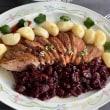 マグレ鴨のさくらんぼ赤ワインソース