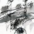 白い花の咲く頃(6)「本の虫」 [詩人・伊藤冬留のエッセイと画人・高見乾司の風景素描によるコラボ]