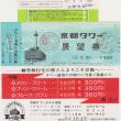京都タワーのチケット … 1979年(昭和54年)