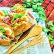 [小樽]娘の今日のお弁当・卵🐣サンド弁当グルメ案内です。
