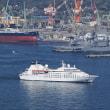 初寄港~米、仏のプライベートヨット型客船