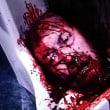 切り株画像(映画『孤狼の血』より、首と胴体を別々に埋めるのはもしかしたら生き返るんじゃないかと思うからだ)