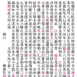 石碑文字の清書方法(3)(私の場合)