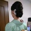 29,12,10出張着付は堺市東区、七五三詣りに行かれる訪問着の着付&ヘアセットでした。