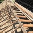 瀬戸内市邑久町での住宅屋根葺き替え工事スタート