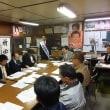 10月15日 本日は小田原きよし事務所で六市合同演説会の打ち合わせを行いました